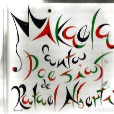 CDs de Música: CD MIKAELA CANTA POESIAS DE RAFAEL ALBERTI ( MUSICA DE ANTON GARCIA ABRIL ) . Lote 102394623