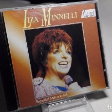 CDs de Música: CD - MUSICA - LIZA MINNELLI ?– THE ACT. Lote 102460883
