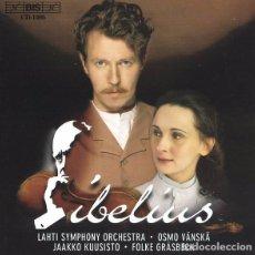 CDs de Música: SIBELIUS / JEAN SIBELIUS, OSMO VÄNSKÄ, JAAKKO KUUSISTO, FOLKE GRÄSBECK CD BSO. Lote 102479063