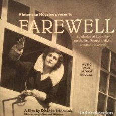 CDs de Música: FAREWELL / PAUL M. VAN BRUGGE CD BSO - PROMO CARDSLEEVE. Lote 102479619