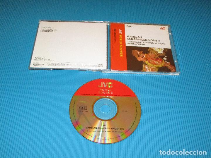 BALI - GAMELAN SEMARPEGULINGAN II ( GUNUNG JATI ENSEMBLE OF TEGAS...)- CD - VICG-5025 - JVC - VICTOR (Música - CD's World Music)