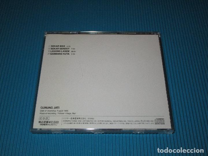 CDs de Música: BALI - GAMELAN SEMARPEGULINGAN II ( GUNUNG JATI ENSEMBLE OF TEGAS...)- CD - VICG-5025 - JVC - VICTOR - Foto 3 - 102529415
