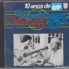 CDs de Música: 10 ANOS DE TOQUINHO E VINICIUS DE MORAES CD 1989 BRASIL. Lote 102534439