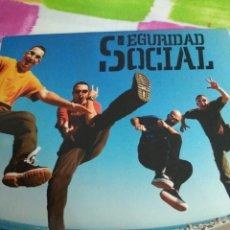 CDs de Música: SEGURIDAD SOCIAL / CD SINGLE PROMOCIONAL / EL RITMO DEL CORAZÓN 1999. Lote 102557816