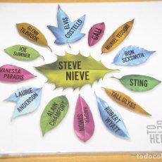 CDs de Música: STEVE NIEVE, TOGETHER, CD PRECINTADO, ELVIS COSTELLO STING TEODORI CALI ULYSS WYATT TILBROOK. Lote 102615323