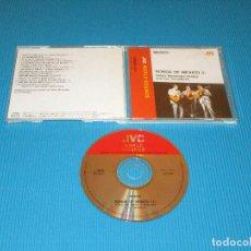 CDs de Música: MEXICO - SONGS OF MEXICO I ( CARLOS HERNANDEZ CHABEZ AND LOS TROVADORES ) - CD - VICG-5335 - JVC. Lote 102642963