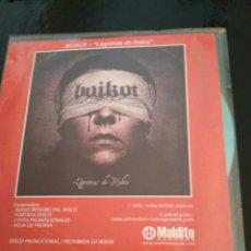 CDs de Música: BOIKOT / LÁGRIMAS DE RABIA / CD SINGLE PROMOCIONAL. Lote 102693664