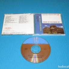 CDs de Música: EASTER ISLAND - MARQUESAS ISLANDS - MUSIC OF POLYNESIA III - CD - VICG-5273 - JVC - VICTOR. Lote 102701179