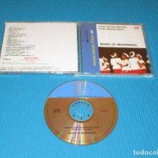 CDs de Música: GUAM - NORTHERN MARIANAS - F.S.M. ... - MUSIC OF MICRONESIA - CD - VICG-5277 - JVC - VICTOR. Lote 102702019