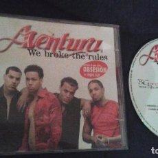 CDs de Musique: AVENTURA - WE BROKE THE RULES REMIXES CD ALBUM 2004 CONTIENE 12 TEMAS OBSESION ROMEO SANTOS. Lote 102723563