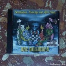 CDs de Música: CD DAZ DILLINGER - RETALIATION, REVENGE, AND GET BLACK. (DEATH ROW RECORDS), RAP, HIP HOP USA. Lote 102731871
