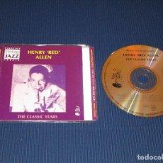 CDs de Música: HENRY RED ALLEN ( THE CLASSIC YEARS ) - CD - CDSGP0169 - PRESTIGE VINTAGE JAZZ GREATS. Lote 102733859