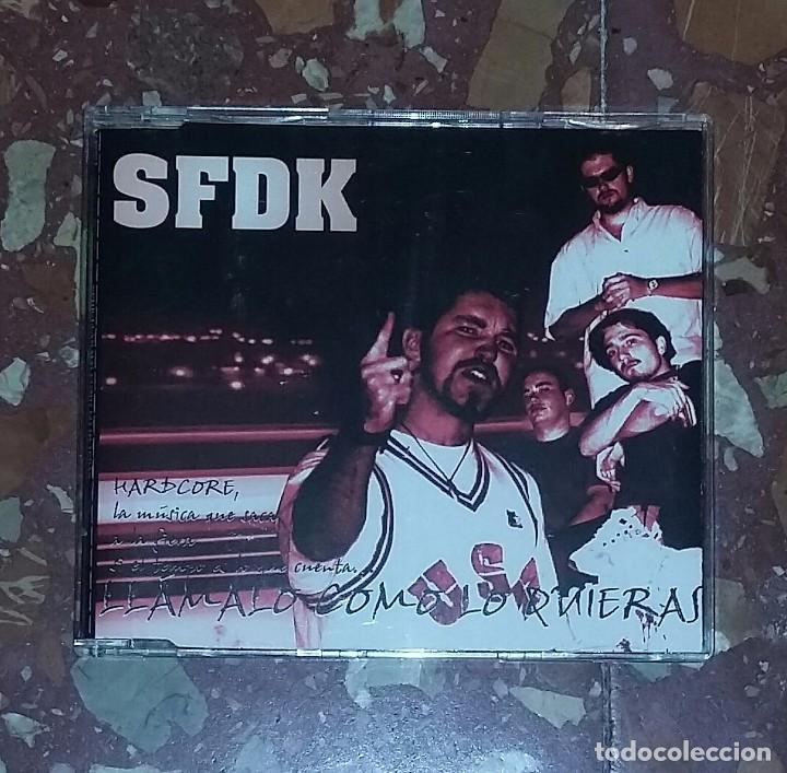 CD SFDK - LLAMALO COMO LO QUIERAS (ZEROPORSIENTO 1998) RAP, HIP HOP ESPAÑOL (Música - CD's Hip hop)