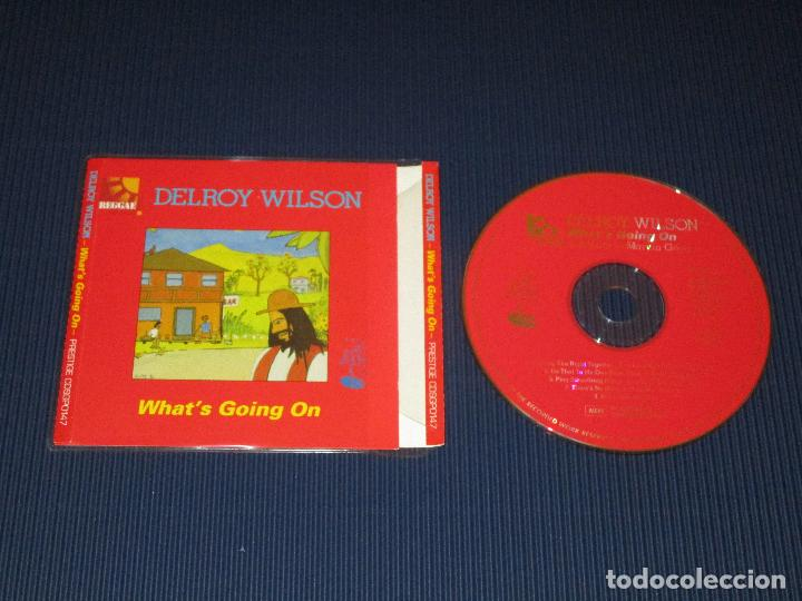 DELROY WILSON ( WHAT'S GOING ON ) - CD - CDSGP0147 - PRESTIGE - REGGAE MASTERS SERIES (Música - CD's Reggae)