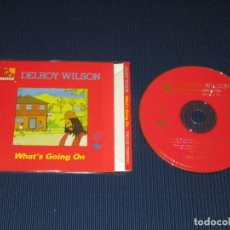 CDs de Música: DELROY WILSON ( WHAT'S GOING ON ) - CD - CDSGP0147 - PRESTIGE - REGGAE MASTERS SERIES. Lote 102734831