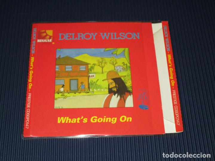 CDs de Música: DELROY WILSON ( WHAT'S GOING ON ) - CD - CDSGP0147 - PRESTIGE - REGGAE MASTERS SERIES - Foto 2 - 102734831