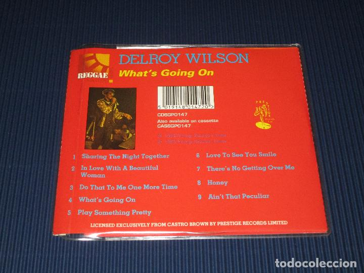 CDs de Música: DELROY WILSON ( WHAT'S GOING ON ) - CD - CDSGP0147 - PRESTIGE - REGGAE MASTERS SERIES - Foto 3 - 102734831