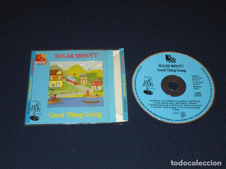 SUGAR MINOTT ( GOOD THING GOING ) - CD - CDSGP0146 - PRESTIGE - REGGAE MASTERS SERIES (Música - CD's Reggae)