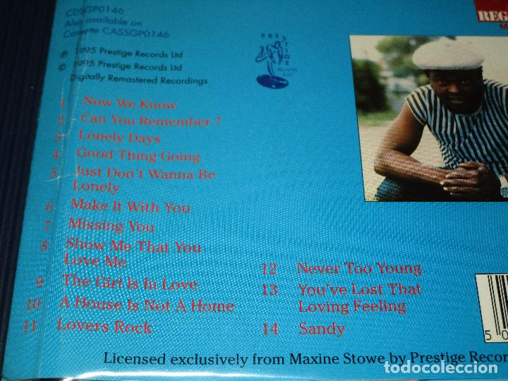 CDs de Música: SUGAR MINOTT ( GOOD THING GOING ) - CD - CDSGP0146 - PRESTIGE - REGGAE MASTERS SERIES - Foto 4 - 102735011