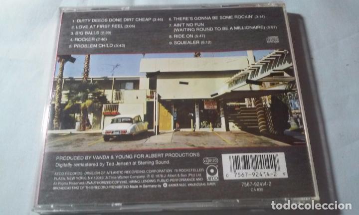 CDs de Música: AC/DC -DIRTY DEEDS DONE DIRT CHEAP- CD ROCK - Foto 6 - 102737755
