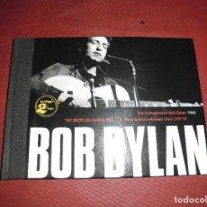 CDs de Música: BOB DYLAN LIBRO + 2 CDS BLONDE ON BLONDE 1963. Lote 102741087