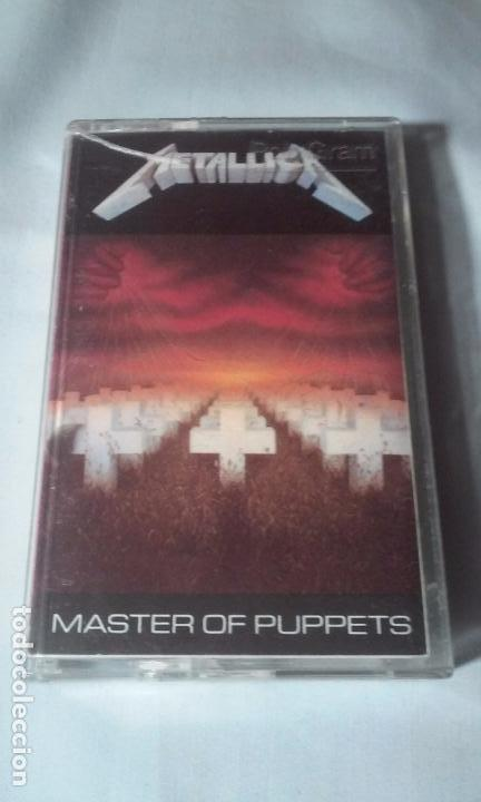 METALLICA -MASTERS OF PUPPETS- CASSETTE AÑOS 1986-1989 (Música - CD's Rock)