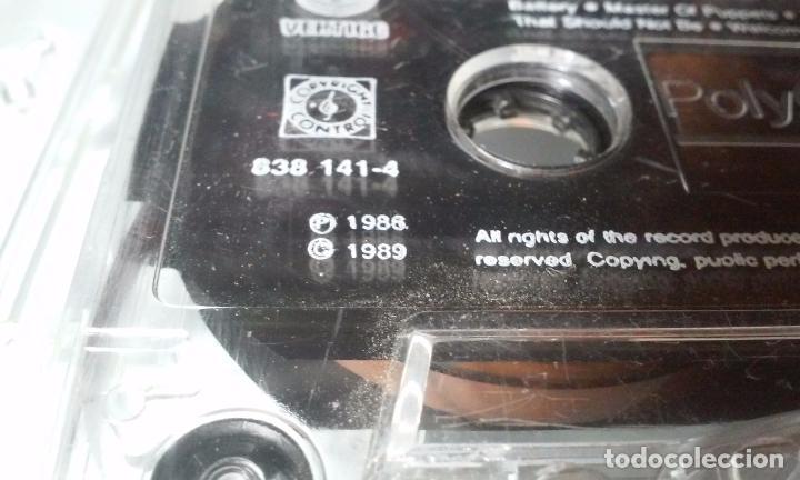 CDs de Música: METALLICA -MASTERS OF PUPPETS- CASSETTE AÑOS 1986-1989 - Foto 15 - 102743035