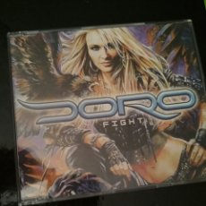 CDs de Música: DORO / FIGHT / CD MAXI PROMOCIONAL. Lote 102747255