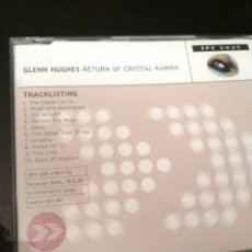 CDs de Música: GLENN HUGHES / RETURN OF CRYSTAL KARMA / DEEP PURPLE / CD MAXI PROMOCIONAL. Lote 102747411