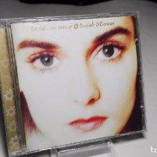 CDs de Música: CD - MUSICA - SINÉAD O'CONNOR ?– SO FAR... THE BEST OF SINÉAD O'CONNOR. Lote 102750691