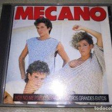CD di Musica: MECANO (HOY NO ME PUEDO LEVANTAR Y OTROS GRANDES EXITOS) CD 1991. Lote 102763251