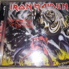 CDs de Música: CD IRON MAIDEN. THE NUMBER OF THE BEAST - ED. EMI, AÑO 1998. Lote 102763951