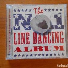 CDs de Música: CD THE NO. 1 LINE DANCING ALBUM (2 CD) (3P). Lote 102777179
