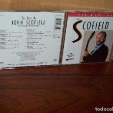 CDs de Música: JOHN SCOFIELD -THE BEST OF - CD . Lote 102788987