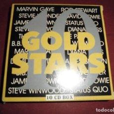 CDs de Música: MAGNIFICA CAJA CON 10 CD`S GOLD STARS. Lote 102936467