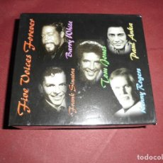 CDs de Música: MAGNIFICA CAJA CON 5 CD`S FIVE VOICES FOREVER. Lote 102937159