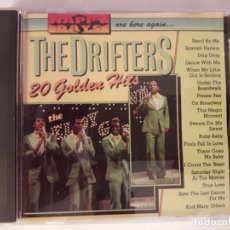 CDs de Música: CD - THE DRIFTERS - 20 GOLDEN HITS - MADE IN HOLLAND - HAPPY DAYS. TOTALMENTE NUEVO. Lote 102939319