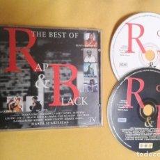 CDs de Música: THE BEST OF RAP & BLACK VOL1 DOBLE CD CON 32 TEMAS. Lote 102941879