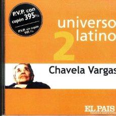 CDs de Música: CHAVELA VARGAS UNIVERSO LATINO CD NUEVO. Lote 102958151
