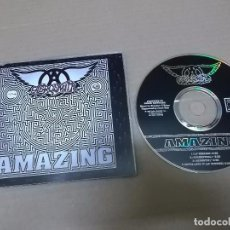 CDs de Música: AEROSMITH (CD/SINGLE) AMAZING +3 TRACKS AÑO 1993. Lote 102965707