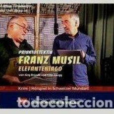 CDs de Música: RADIO NOVELA EN ALEMÁN 2 CDS-AUDIOLIBRO- PRIVATDETEKTIV FRANZ MUSIL ELEFANTENJAD (CAZA DE ELEFANTES). Lote 102967911