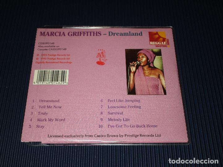 CDs de Música: MARCIA GRIFFITHS ( DREAMLAND ) - CD - CDSGP0148 - PRESTIGE - REGGAE MASTERS SERIES - Foto 3 - 102975707