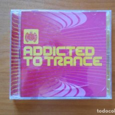 CDs de Música: CD ADDICTED TO TRANCE (2 CD) - MINISTRY OF SOUND (3Q). Lote 103034551