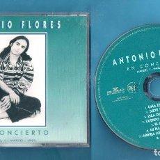 CDs de Música: CD ANTONIO FLORES EN CONCIERTO AÑO 1995. Lote 103051779