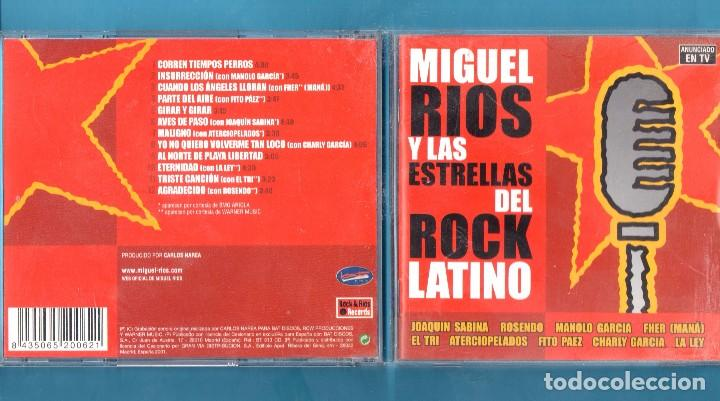 Cd Miguel Rios Y Las Estrellas Del Rock Latino Buy Cd S Of Rock Music At Todocoleccion 103052819