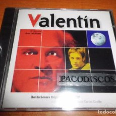 CDs de Música: VALENTIN Y OTROS TRABAJOS DE JUAN CARLOS CUELLO BANDA SONORA CD ALBUM PRECINTADO 22 TEMAS. Lote 103062875