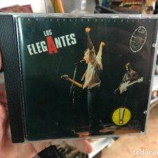 CDs de Música: LOS ELEGANTES EN EL CORAZON DE LA RESACA CD ALBUM EN DIRECTO AÑO 1990 ALVARO URQUIJO LOS SECRETOS. Lote 103087587