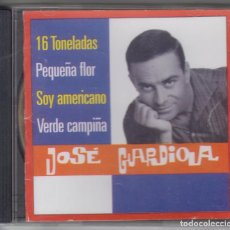 CDs de Música: JOSÉ GUARDIOLA CD SINGLES COLLECTION 2000 DIVUCSA. Lote 103110495