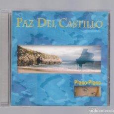 CDs de Música: PAZ DEL CASTILLO - PIANO-PIANO (CD 2001, SEA-MUSIC). Lote 103116935