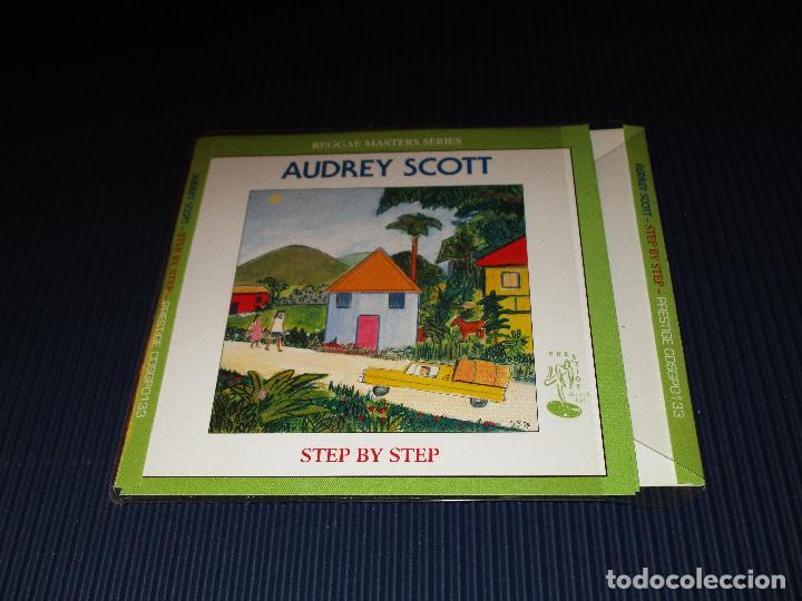 CDs de Música: AUDREY SCOTT ( STEP BY STEP ) - CD - CDSGP0133 - PRESTIGE - REGGAE MASTERS SERIES - Foto 2 - 103121707